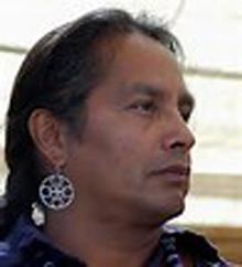 """John """"Bullet"""" Standingdeer, Eastern Band of Cherokee Indians"""