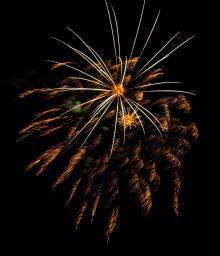 Fireworks in Cherokee, photo by Kristy Maney Herron