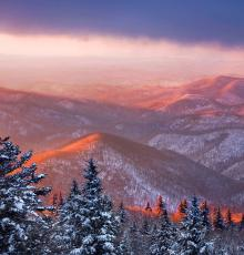 """Cold Mountain Sunrise"" © Scott Hotaling.  Used by permission."